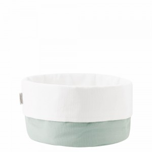 Stelton Brottasche gross dusty green white