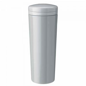 Stelton Carrie Isolierflasche 500ml light grey