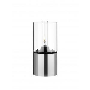Stelton EM Öllampe mit Glasschirm klar 18 x 8,5 cm