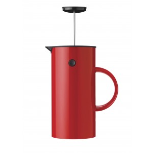 Stelton EM Pressfilterkanne 1L red