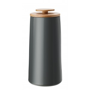Stelton Emma Kaffeedose/Aufbewahrungsdose 500 g dark grey