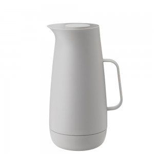 Stelton Foster Isolierkanne, 1l - light grey