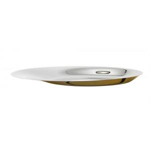 Stelton Foster Schale 46 cm Stahl golden