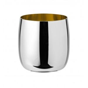 Stelton Foster Wein-/Champagnerglas 0,2 L Stahl golden