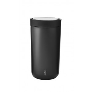 Stelton Isolierbecher To Go Click 0,2L black metallic