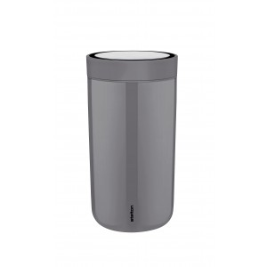 Stelton Isolierbecher To Go Click 0,2L granite grey