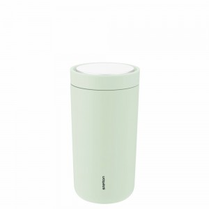 Stelton Isolierbecher To Go Click 0,2L soft seagrass