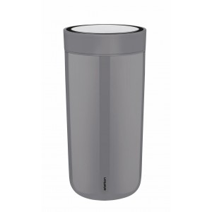 Stelton Isolierbecher To Go Click 0,4L granite grey