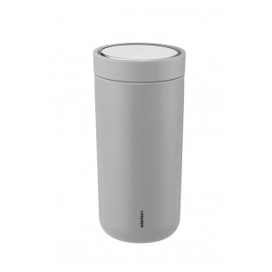 Stelton Isolierbecher To Go Click 0,4L soft light grey