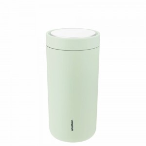 Stelton Isolierbecher To Go Click 0,4l soft seagrass