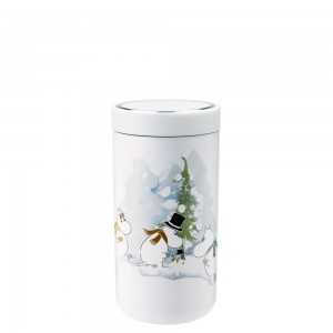 Stelton Isolierbecher To Go Click 0,2L soft white Moomin