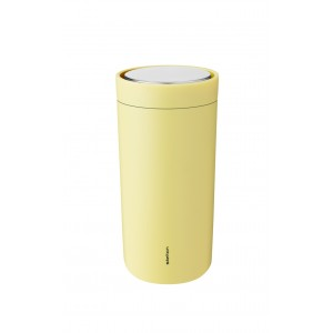 Stelton Isolierbecher To-Go Click 0,4l soft yellow