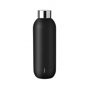 Stelton Keep Cool Trinkflasche 0,6l black