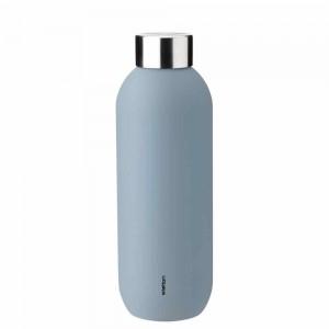 Stelton Keep Cool Trinkflasche 600ml dusty blue