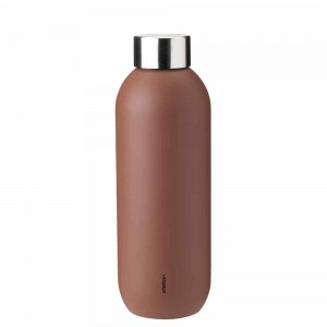 Stelton Keep Cool Trinkflasche 600ml rust