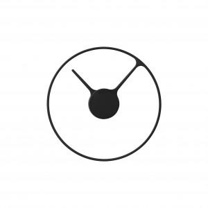 Stelton Time Wanduhr D: 30 cm gross black