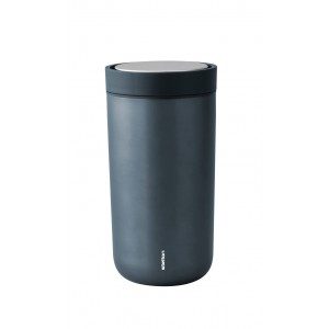Stelton Isolierbecher To Go Click 0,2L blue metallic