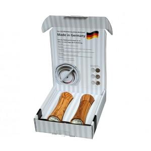 Zassenhaus Mühlen-Set Frankfurt 18cm Olivenholz