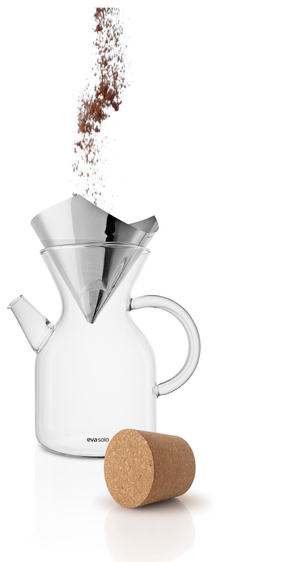 eva solo pour over kaffeebereiter kaffeepressen kaffeem hlen kaffee. Black Bedroom Furniture Sets. Home Design Ideas
